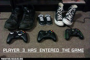 Gamers' Baby Announcement