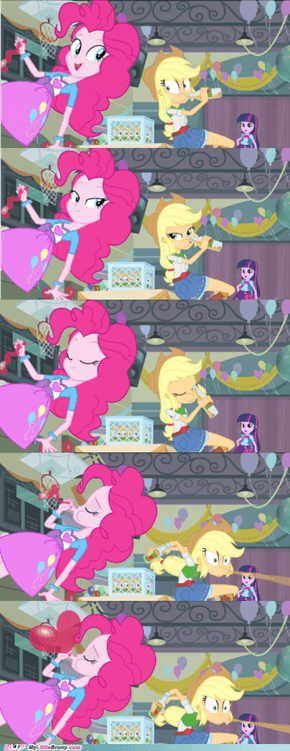 Pinkie Pie Used Levitation