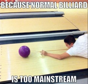 I'm Calling Purple Ball in Lane 3