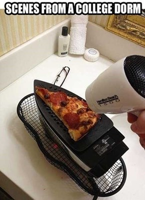 Tired of Heating the Whole Pizza at Once?