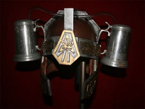 The Beer Helmet of Barbarians