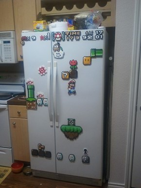 A Gamer's Fridge