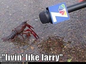 """""""livin' like larry"""""""