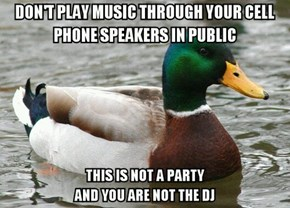 The Music Also Sounds Terrible