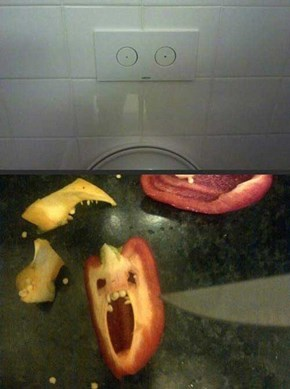 These Peppers Have Seen the Horror