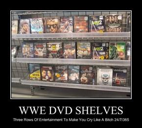 WWE DVD SHELVES