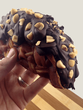 The Bacon Weave Choco Taco Will Destroy You, and You'll Probably Love it