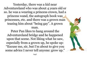 The Magic Kingdom Shows a Big of Heart