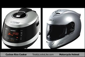 Cuckoo Rice Cooker Totally Looks Like Motorcycle Helmet