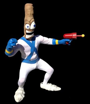 Earthworm Jim Costume