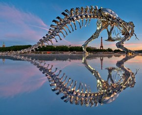 Paris Gets a Shiny Life-Sized T-Rex Skeleton, Making it Cooler than ALL CITIES