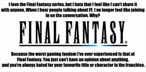 This Makes Us Final Fantasy Fans Sad