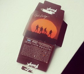 "Durex is Making Daft Punk ""Get Lucky"" Condoms, Because Even Robots Need to Get Some"