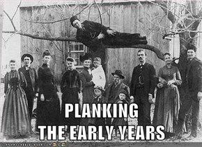 PLANKING                          THE EARLY YEARS