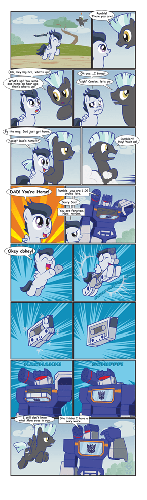 Soundwave is best father
