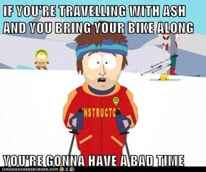 Some advice for Ash's Kalos travelling companion