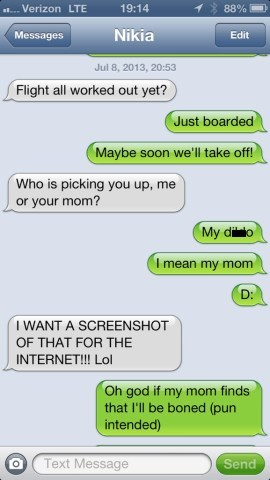 Dude... Don't Use 'Mom' and 'Boned' in the Same Sentence. Ever.