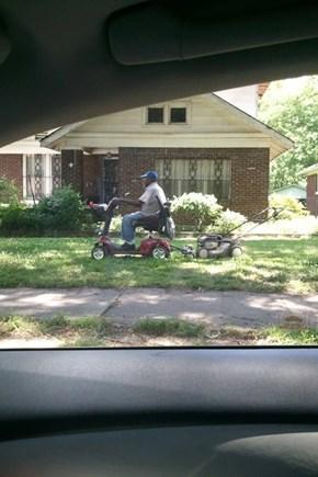 Rascal Mowing