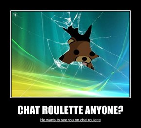 CHAT ROULETTE ANYONE?