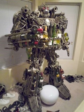 The Giant Attack Robot of Death Would Love to Give You Wine