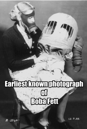 Earliest known photograph of  Boba Fett