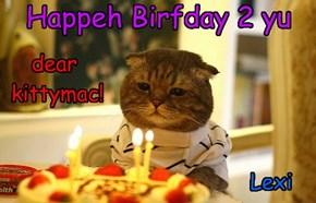 Happeh Birfday 2 yu