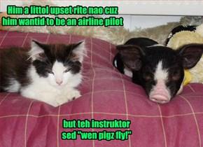 Nowun Burnz Mai Pork And Getz Awai Wif Et!