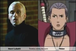 Henri Lubatti Totally Looks Like Hidan