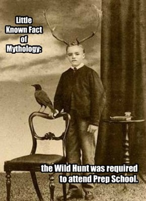 Little Known Fact of Mythology: