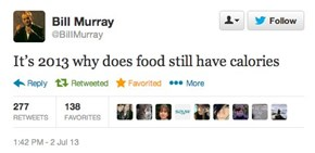 Bill Murray speaks truth!!