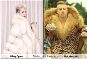 Miley Cyrus Totally Looks Like Macklemore