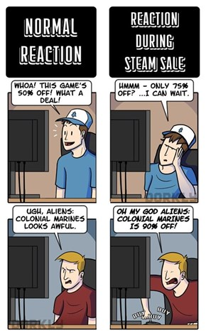 Everyone Loves Dem Steam Sales