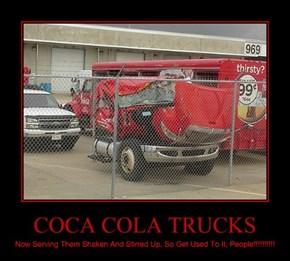 COCA COLA TRUCKS