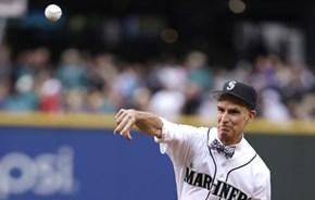 Bill Nye Throws a Scientifically Accurate First Pitch