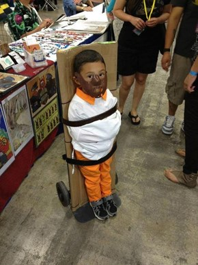 A Totally Child-Appropriate Costume