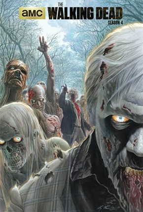 Alex Ross draws the covert for the new season of TWD