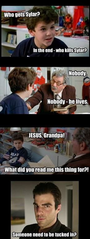 Grandpa Spoils Heroes