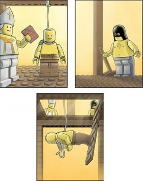 During the Lego Inquisition. This was a common problem.