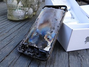 When You Put an iPhone in the Microwave