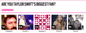 4chan Gets 39-Year-Old Dude to the Top of the Voting for a 'Meet Taylor Swift' Contest