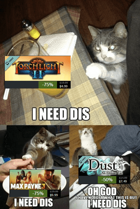 This is What Everyone is Like During the Steam Sale