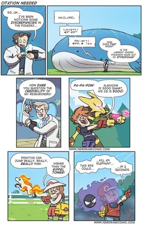 Professor Oak Needs to Do More Research