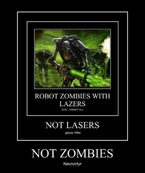 NOT ZOMBIES