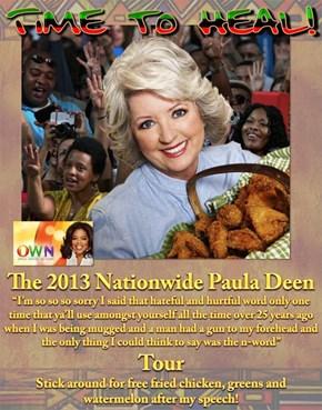 """The Paula Deen """"Time for Healing"""" Tour 2013"""