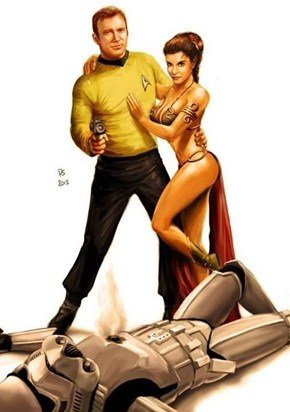 Kirk's Libido Crosses Dimensions
