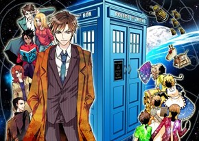 Anime Doctor Who