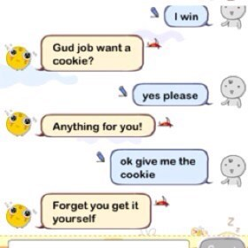 Simsimi is a jerk