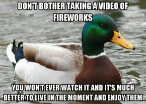 Some Advice for the Fourth of July