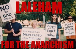 Laleham, Anarchy