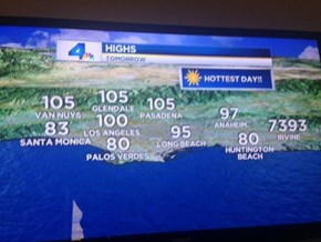 Meanwhile in California of the Day: Irvine is Melting
